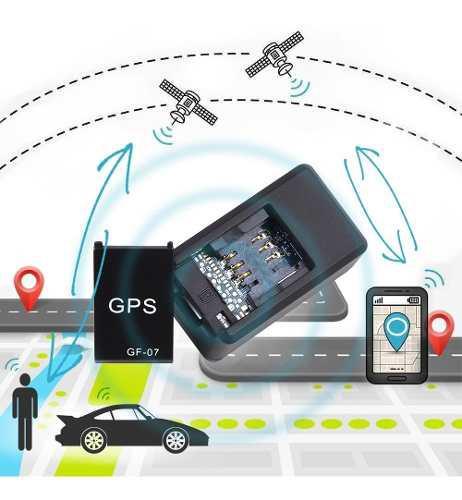 Gps Gf-07 Mini Coche Tracker Rastreador Con Grabado De Voz