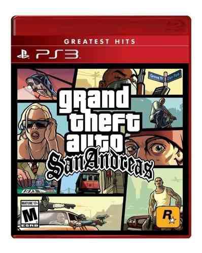 Grand Theft Auto San Andreas Ps3 Nuevo Fisico Od.st