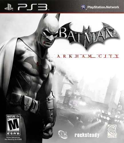 Juego Batman Arkham City Ps3 Usado Original