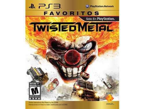 Juego Favoritos Twisted Metal Ps3 Nuevo Original