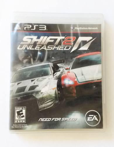Juego Playstation 3 Need For Speed Shift 2 Original Uso Fisi