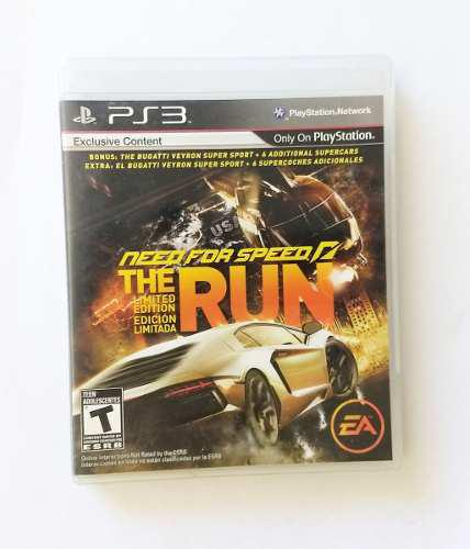 Juego Playstation 3 Need For Speed The Run Original Uso Fisi