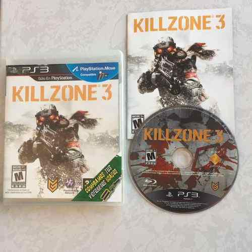 Killzone 3 Completo Para Tu Ps3 Juegazo Chécalo