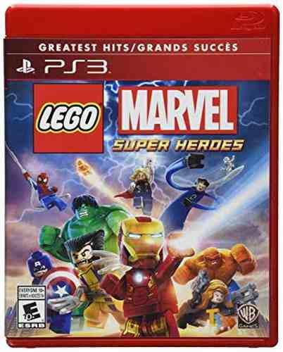 Lego Marvel Super Heroes Ps3 Playstation Nuevo Sellado Juego