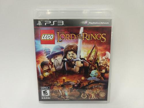 Lego The Lord Of The Rings Ps3 Juegazo De Coleccion Animate!