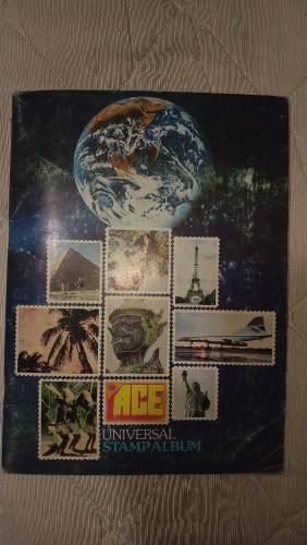 Libreta Para Coleccionistas De Timbres Postales Ace