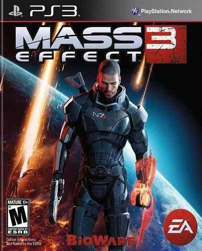 Mass Effect 3 Ps3 Playstation Nuevo Sellado Juego Videojuego