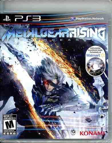 Metal Gear Rising Nuevo Ps3 Con Cd De Soundtrack (d3 Gamers)