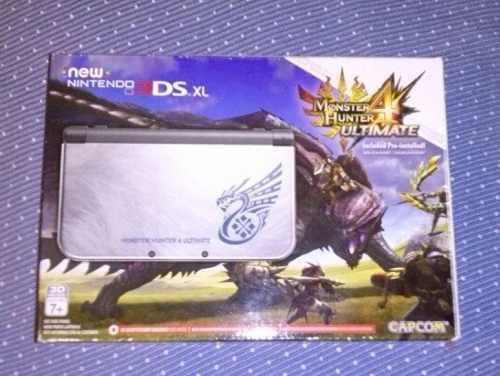 New 3ds Monster Hunter 4, En Caja, Precio A Tratar