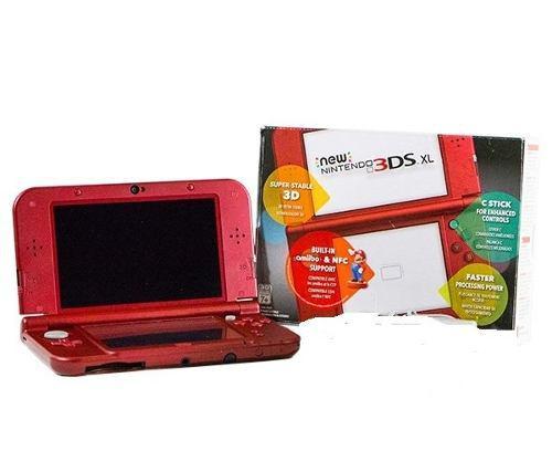 New 3ds Nintendo 3ds-xl Color Rojo, En Caja A Tratar