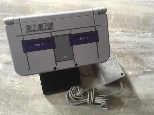 New 3ds Xl Edicion Limitada Super Nintendo Con 40 Juegos