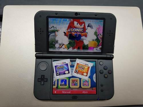 New Nintendo 3ds Xl Con Pokemon Sol Y Luna Incluye Cargador