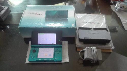 Nintendo 3ds Aqua Blue Completa Con Caja E Instructivo,checa