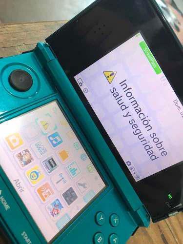 Nintendo 3ds Con 10 Juegos Instalados