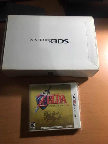 Nintendo 3ds Edición Zelda Ocarina Of Time De 25