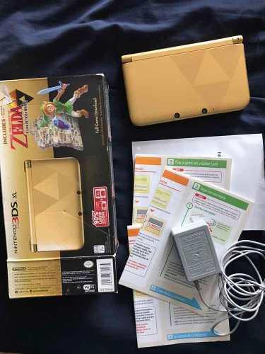 Nintendo 3ds Xl Edición Especial Zelda ** Remate** Oferta