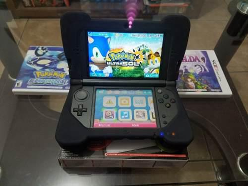 Nintendo 3ds Xl Impecable!!, Zelda Majoras, Pokemon Sun...