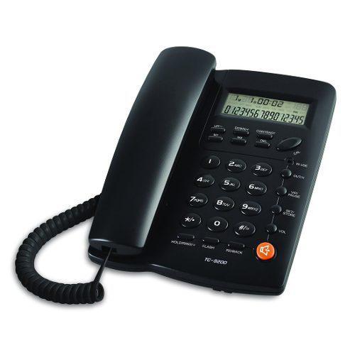 Oferta 2 Pz- Telefono De Linea Para Casa U Oficina Tc-9200