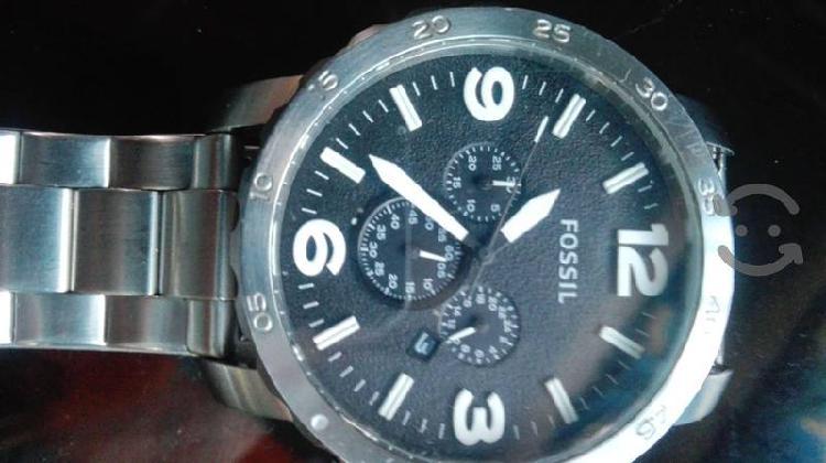 Reloj fossil acero grande original chrono