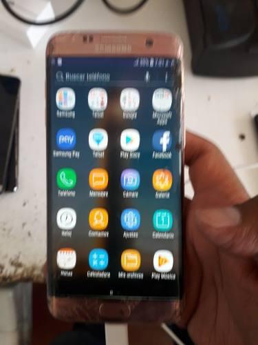 Samsung S7 Edge Para Piezas Telcel, Falla Display