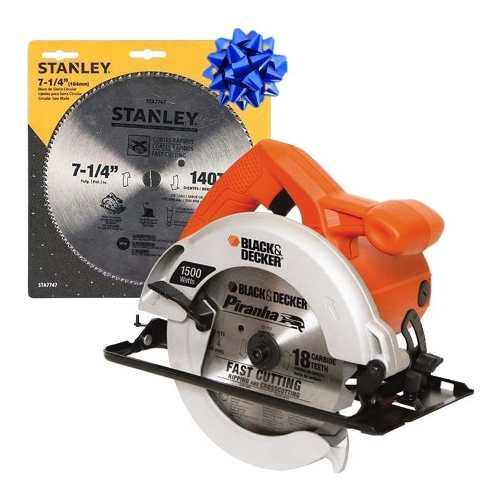 Sierra Circular w Cs Black Decker+disco Regalo