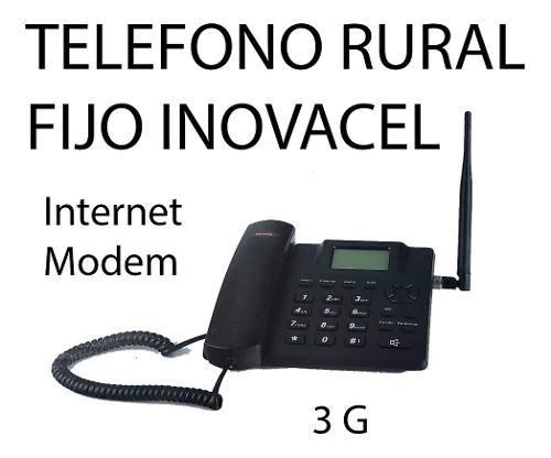 Telefono De Casa Para Zonas Rurales Con Antena 10 Mts Cable