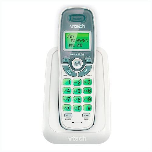 Telefono Inalambrico Vtech Detec 6.0 Digital Cs6114 Blanco