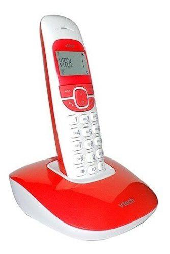 Telefono Inalambrico Vtech Vtone300r Dect 6.0 Rojo Nuevo