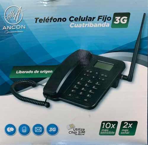 Teléfono De Casa Para Zona Rural 3g Ancon