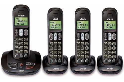 Teléfono Inalámbrico Vtech Cs6199-4 6.0 Re-acondicionado