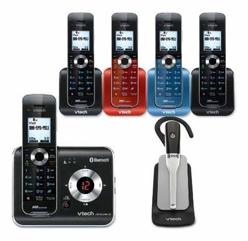Teléfono Inalámbrico Vtech Ds6472-6 Bluetooth Audio Hd