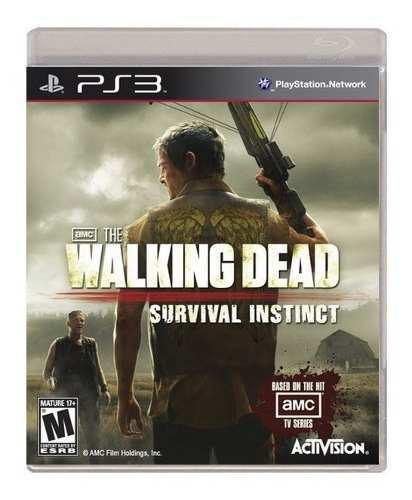 The Walking Dead Survival Instinct Ps3 Nuevo Y Sellado Juego