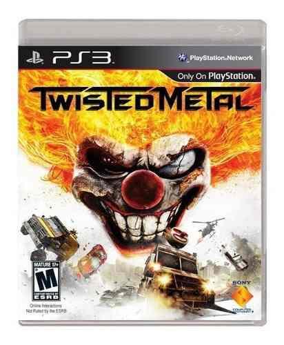 Twisted Metal Ps3 Playstation Nuevo Sellado Juego Videojuego