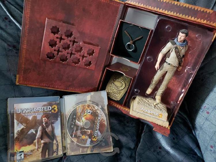 Uncharted 3 de ps3 collectors