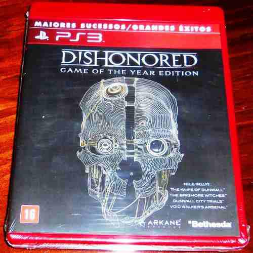 Videojuego Dishonored Game Of The Year Edition Ps3 Sellado