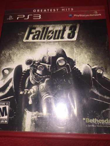Videojuego Fallout 3 Ps3