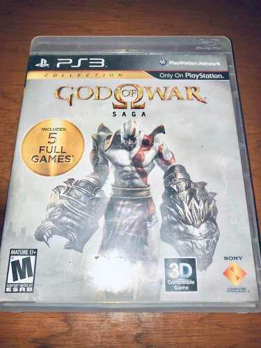Videojuego Para Ps3 God Of War Saga (1,2 Y 3) Usado