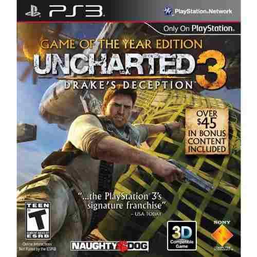 Videojuego Uncharted 3: La Traición De Drake -