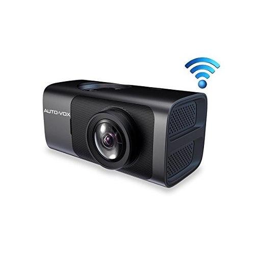 Auto-vox D7 Wifi Dash Cam Con El Gps Y Super Visión