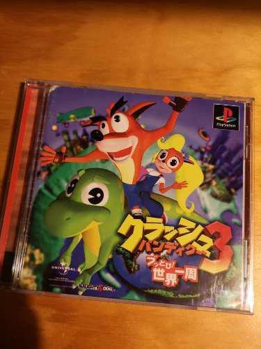 Crash Bandicoot 3 Warped, Ps1, Psx, Original