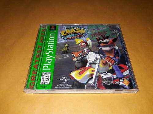 Crash Bandicoot Warped Playstation 1 Completo Buen Estado