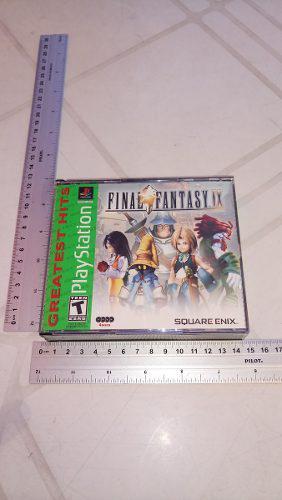 Final Fantasy 9 Psone En Muy Buen Estado Square Enix