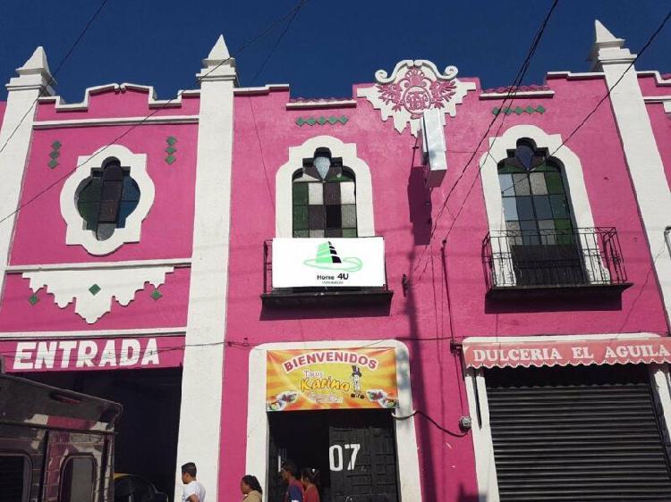 INMUEBLE COMERCIAL EN EL CENTRO DE PUEBLA