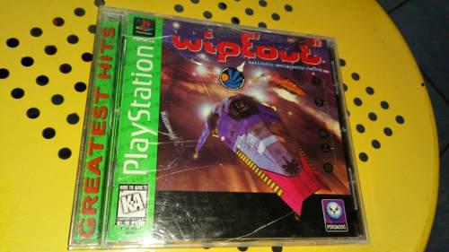 Playstation 1 Wipeout Conpleto Original En Buen Estado Ps1