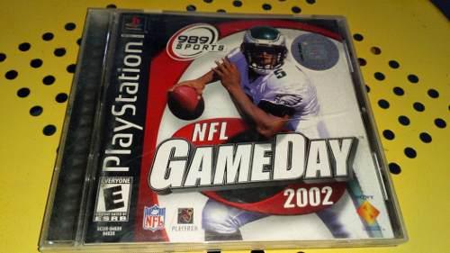 Playstation Nfl Gameday 2002 Original Muy Buen Estado Envío