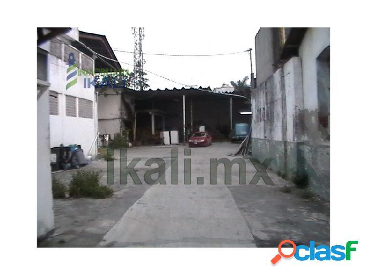 Renta bodega 1323 m² zona centro Tuxpan Veracruz, Tuxpan de
