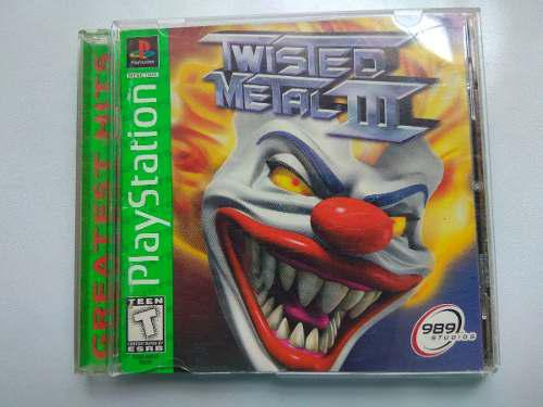 Twisted Metal 3 Playstation One Psx, Ps2 Ps3