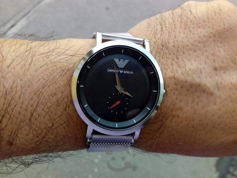 reloj de cuarzo armani de caballero