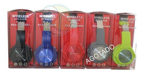 Audifono Diadema Bluetooth 2 En 1 Manos Libres Y Bocina