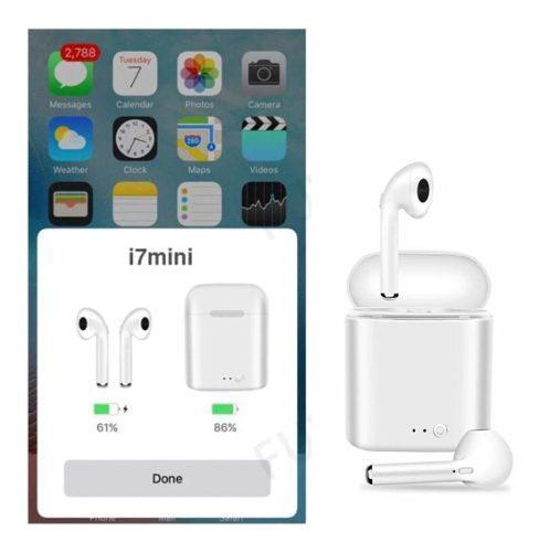 Audifonos Auriculares Bluetooth 5.0 Hbq I7 Mini Earpods Tws